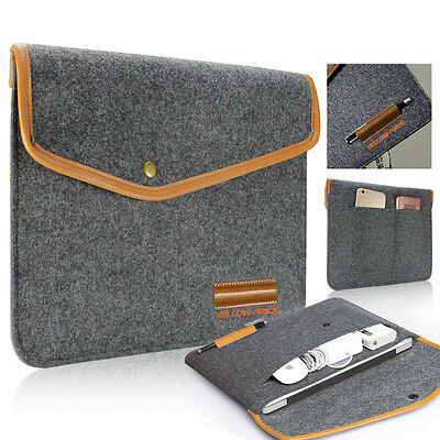 """$12.33 • Buy Fashionable Felt Carry Bag With Accessory Pouch For Macbook Air/Pro Retina 13"""""""