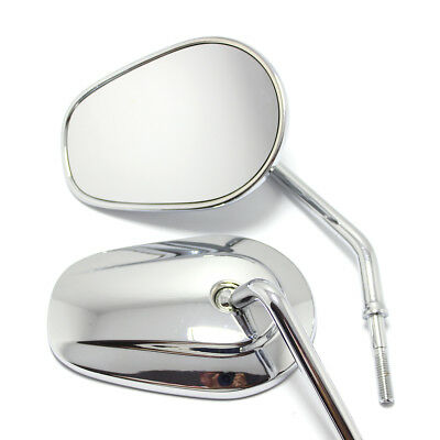 $29.66 • Buy Custom Motorcycle Parts-rear View Mirror For Harley Chrome For Harley Davidson
