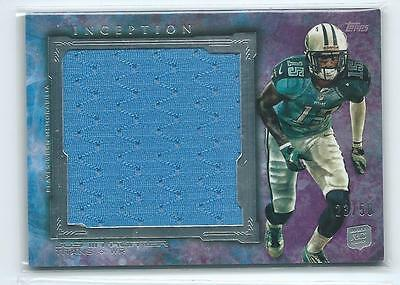 $4.99 • Buy 2013 Topps Inception Justin Hunter PURPLE JUMBO JERSEY RELIC RC 23/50 TITANS
