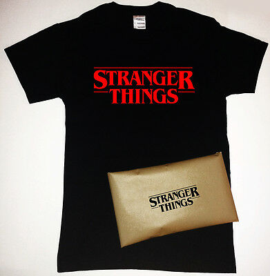 AU23.99 • Buy Stranger Things T-Shirt With Stranger Things Packaging TV Netflix