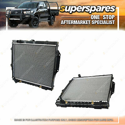 AU294.05 • Buy Superspares Radiator For Mitsubishi Pajero NA To NL 3.5 Litre Automatic 6G74