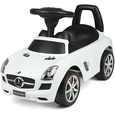 £44.99 • Buy Mercedes Benz Ride On Car Kids Foot To Floor With Sound Effects Licensed Toy