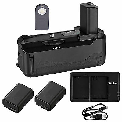 $ CDN112.85 • Buy Vivitar Battery Grip For Sony A6300 + 2x NP-FW50 Battery +USB Dual Charger