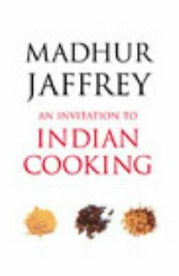 £10.99 • Buy An Invitation To Indian Cooking By Jaffrey, Madhur Paperback Book The Cheap Fast