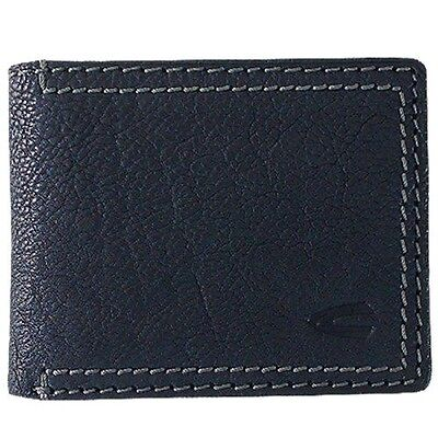 New Camel Active Men's Genuine Leather Wallet Coin Purse Card Holder Black • 32.19£