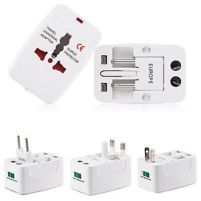 AU17 • Buy Universal All-in-1 Travel Charger Adapter Plug W/ Pouch