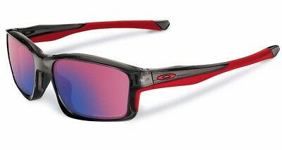 AU179.99 • Buy POLARIZED NEW Genuine OAKLEY CHAINLINK Grey OO Red Iridium Sunglasses OO 9247-10