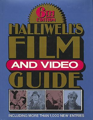 £7.27 • Buy Halliwell's Film And Video Guide 6th Edition (1988, Hardcover)
