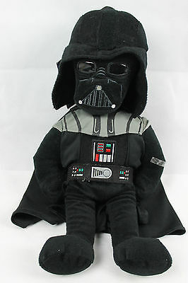8cb0a37cd36 Nwt Nos 2011 Star Wars Darth Vader Funny Plush Backpack Youth Kids 20   In