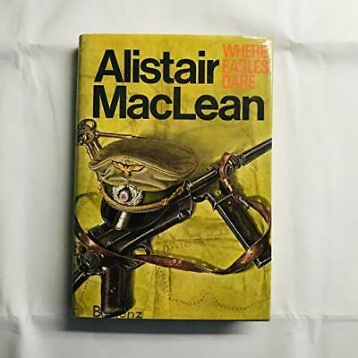Where Eagles Dare By MacLean, Alistair Hardback Book The Cheap Fast Free Post • 8.49£