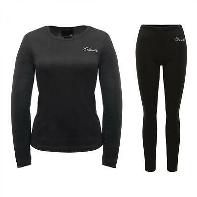 Dare2b Insulate Womens Base Layer Set Thermal Long Sleeve Top & Leggings • 12£