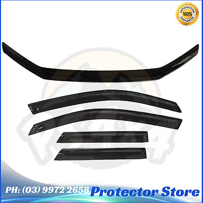 AU119 • Buy Ford Territory SZ 2011-2016 Bonnet Protector & Window Visors Weather Shields