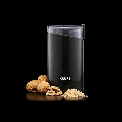 £23.99 • Buy Krups Electric Coffee Beans Grinder Grind Nut Spice Stainless Steel Blade New
