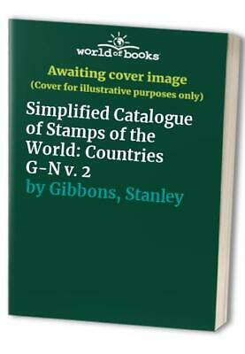 £25.99 • Buy Simplified Catalogue Of Stamps Of The World: Co... By Gibbons, Stanley Paperback