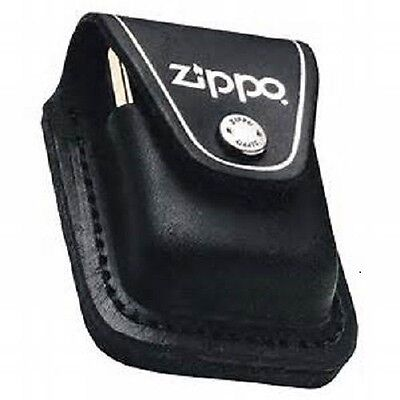 $10.99 • Buy Zippo Black Leather Lighter Pouch With Clip, New In Box