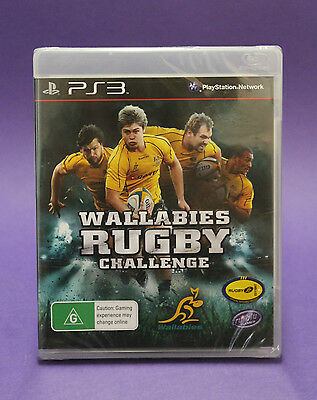 AU13.89 • Buy Wallabies Rugby Challenge Ps3 🎉aussie Seller🎉 New & Factory Sealed~fast Post !