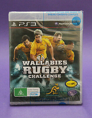 AU13.39 • Buy Wallabies Rugby Challenge Ps3 🎉aussie Seller🎉 New & Factory Sealed~fast Post !