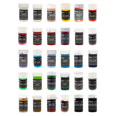 Sugarflair Pastel Edible Concentrated Paste Gel For Food Cake Cup Icing Colour • 4£