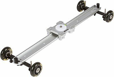 $49.95 • Buy Movo SGTD-60S 60cm Linear Track Slider / Table Dolly Combo Video Camera Rail Rig