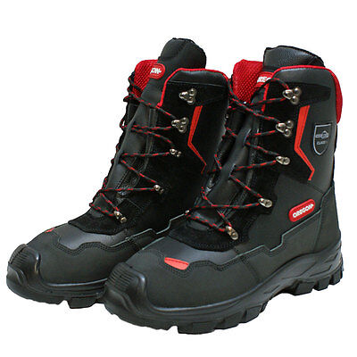 Brand New Oregon Yukon Leather Chainsaw Safety Boots Class 1 (20m/s) All Sizes  • 73£