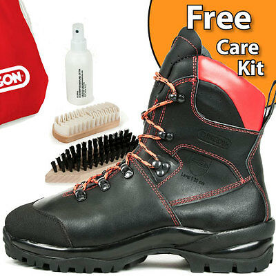 Brand New Oregon Waipoua Leather Chainsaw Safety Boots Class 1 All Sizes  • 113£