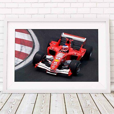 AU62.95 • Buy FERRARI - Formula 1 Car Poster Picture Print Sizes A5 To A0 **FREE DELIVERY**