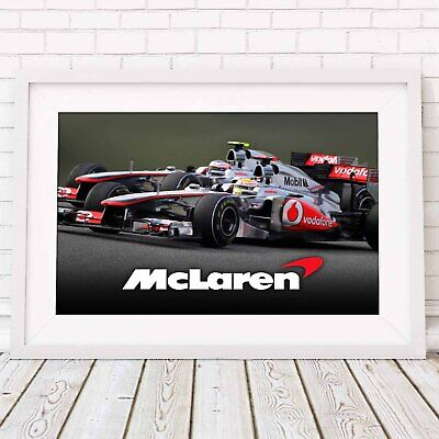 AU62.95 • Buy MCLAREN - Formula 1 Car Poster Picture Print Sizes A5 To A0 **FREE DELIVERY**