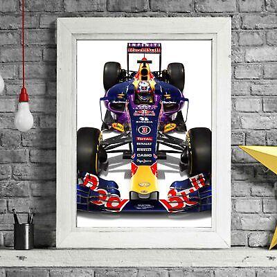 AU24.95 • Buy RED BULL - Formula 1 Car Poster Picture Print Sizes A5 To A0 **FREE DELIVERY**