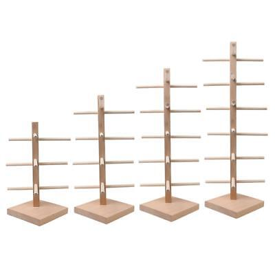 AU21.89 • Buy Natural Wood Sunglasses Eye Glasses Display Rack Counter Stand Organizer 4 Types