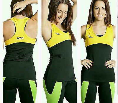 Sportswear Womenswear Clothing Fitness Singlet Tank Top Zerosportswear • 16.97£