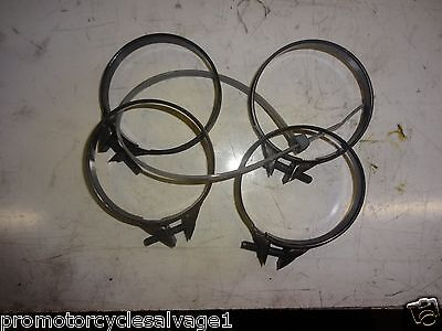 $27.57 • Buy Suzuki Gsxr 750 2004 2005 K4 K5:airbox To Carb Clamps:used Motorcycle Parts