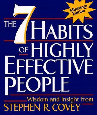 AU13.99 • Buy The 7 Habits Of Highly Effective People - Covey, Stephen 9780762408337 Mini SYD