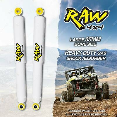 AU228.95 • Buy 2 X Front 50-100mm Lift RAW 4x4 Big Bore Shock Absorbers For Ford F Series F250