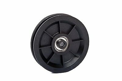 $10.90 • Buy Pulley For Gym Equipment Heavy Duty, One Ball Bearing ⌀90mm / ⌀3.54in