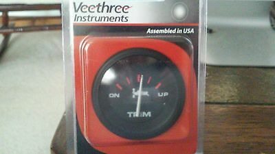 AU46.45 • Buy New Veethree Instruments 61748E Yamaha Outboards Pre-2001 Amega Domed Gauge