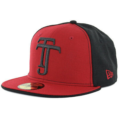 buy online 54e18 11f69 New Era 59Fifty Club Tijuana Xolos TJ Fitted Hat (Black Red) Mexico Soccer