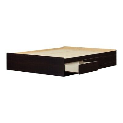 $416.18 • Buy South Shore Breakwater Queen Storage Bed With Drawers In Chocolate