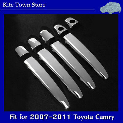 $12.99 • Buy NEW Chrome 4 Door Handle Cover Set For 2007 2008 2009 2010 2011 Toyota Camry