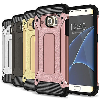 $ CDN6.36 • Buy For Samsung Galaxy S7 Edge Cases Shockproof Armor Dual-layer Protective Cover