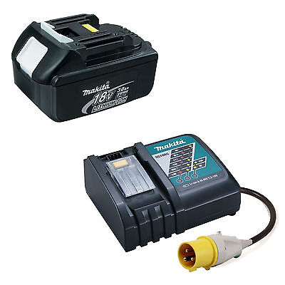 Makita Lxt 110v Dc18rc Charger With Bl1830 Battery • 147.99£