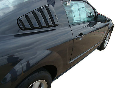 $209.99 • Buy Painted Window Louvers For A 2005-2009 Ford Mustang