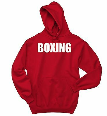 $21.48 • Buy Boxing Sweatshirt Workout Gym MMA Fighter Boxer Holiday Gift Hoodie