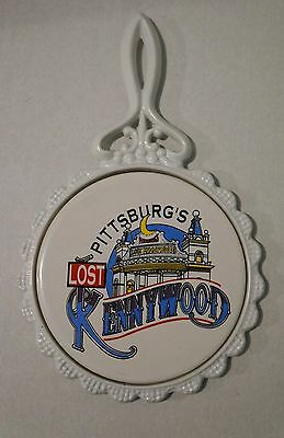 $14.99 • Buy Pittsburg's Lost Kennywood Ceramic Wall Plate/pot Plate