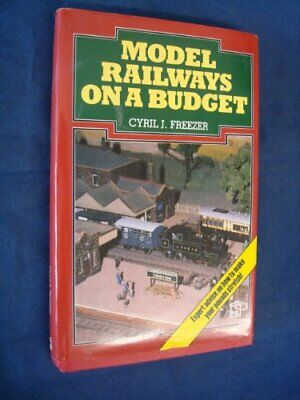 Model Railways On A Budget By C.J. Freezer 0850598214 • 5.99£