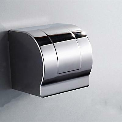 AU14.68 • Buy Bathroom Wall Mounted Toilet Paper Roll Holder Tissue Box Cover Dispenser