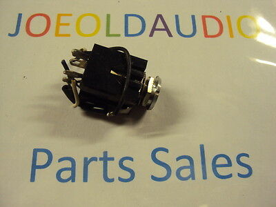 $18.99 • Buy Kenwood KR 6160 MIC Jack Left Or Right. 1/4 . Tested.  Parting Out KR 6600.
