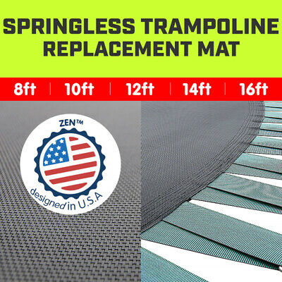 AU169 • Buy New Springless Trampoline Replacement Mat Round Outdoor 8ft 10ft 12ft 14ft 16ft