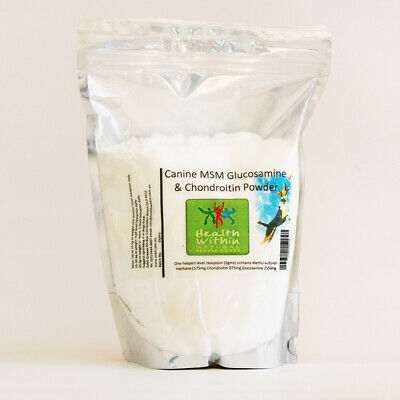 AU80 • Buy Canine MSM Chondroitin Glucosamine Powder 1000gm Dog Joint Arthritis Dysplasia