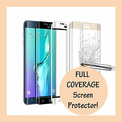 AU1.69 • Buy Full Coverage Tempered Glass Screen Protector For Samsung Galaxy S8 S9 S10 PLUS