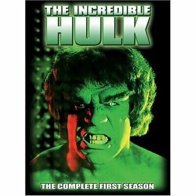 The Incredible Hulk: The Complete First Season [DVD] - DVD  00VG The Cheap Fast • 4.29£
